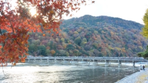 virtual tour of arashiyama togetsukyo bridge