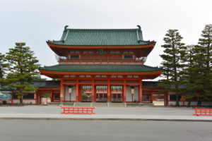 heianjingu shrine virtual tour